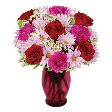Sweetest Kiss Flower Bouquet from Ingallina's Gifts